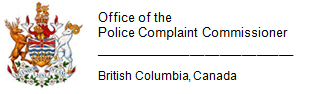 Office of the Police Complaint Commissioner BC crest